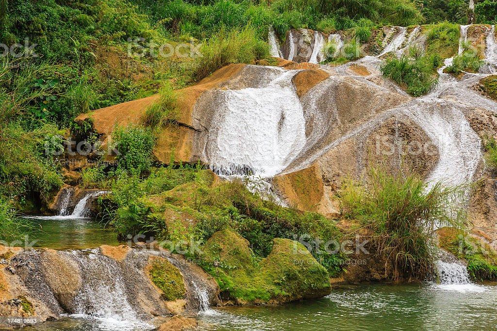 Parque El Nicho, Cuba stock photo