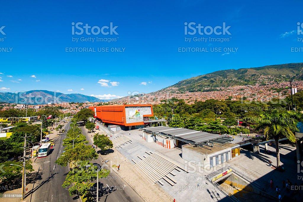 Parque Explora in Medellin, Colombia stock photo