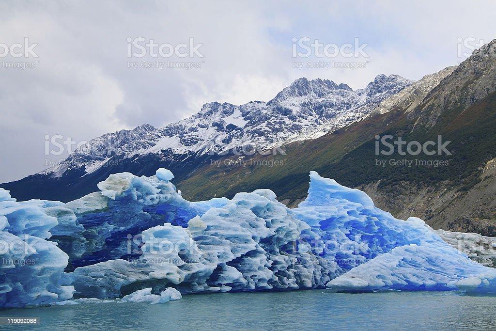 Parque Los Glaciares royalty-free stock photo