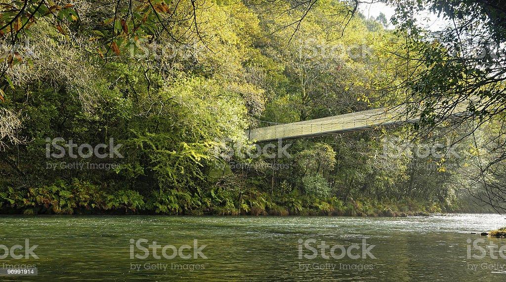 Parque Natural Fragas do Eume - Galicia (Espa?a) stock photo