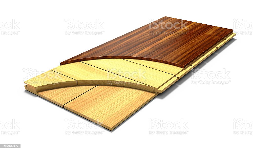 Parquet board. royalty-free stock photo