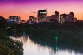 Parramatta at dusk