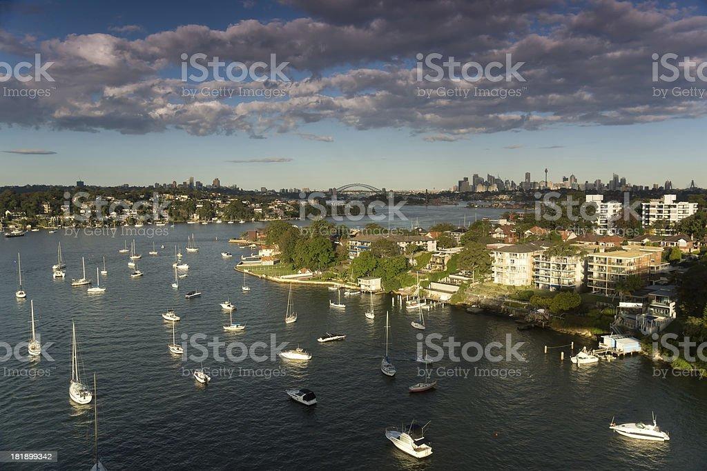 Parramatta River stock photo