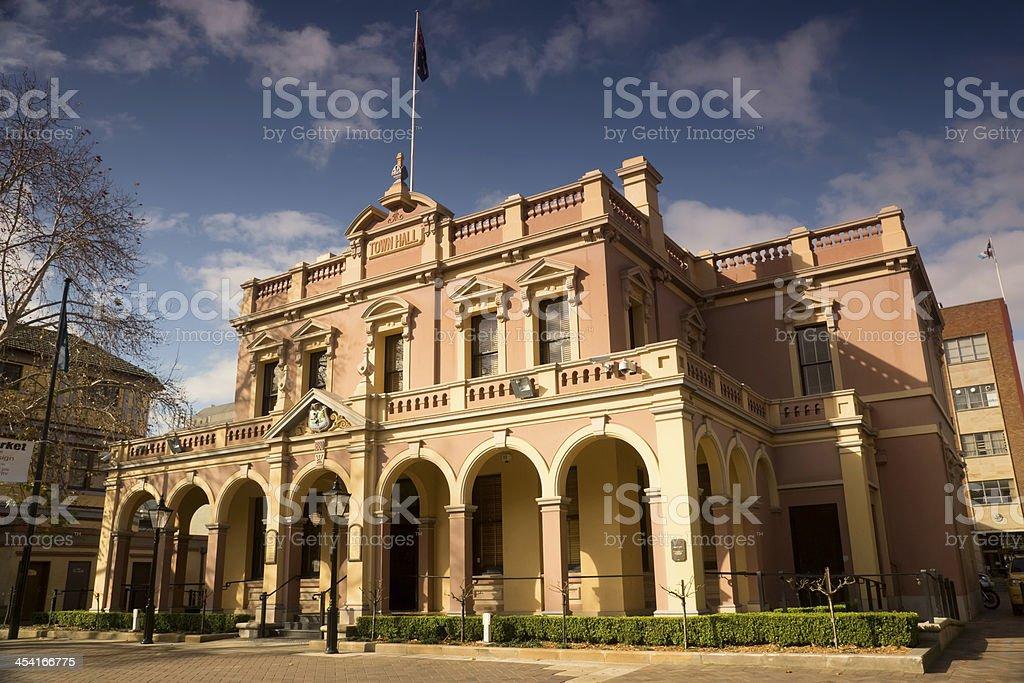 Parramatta Town Hall stock photo