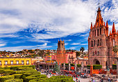 Parroquia Jardin Archangel Church San Miguel de Allende Mexico
