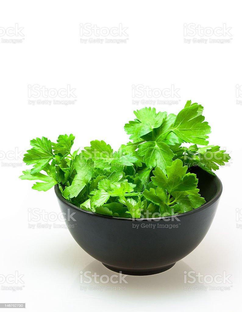 parsley royalty-free stock photo
