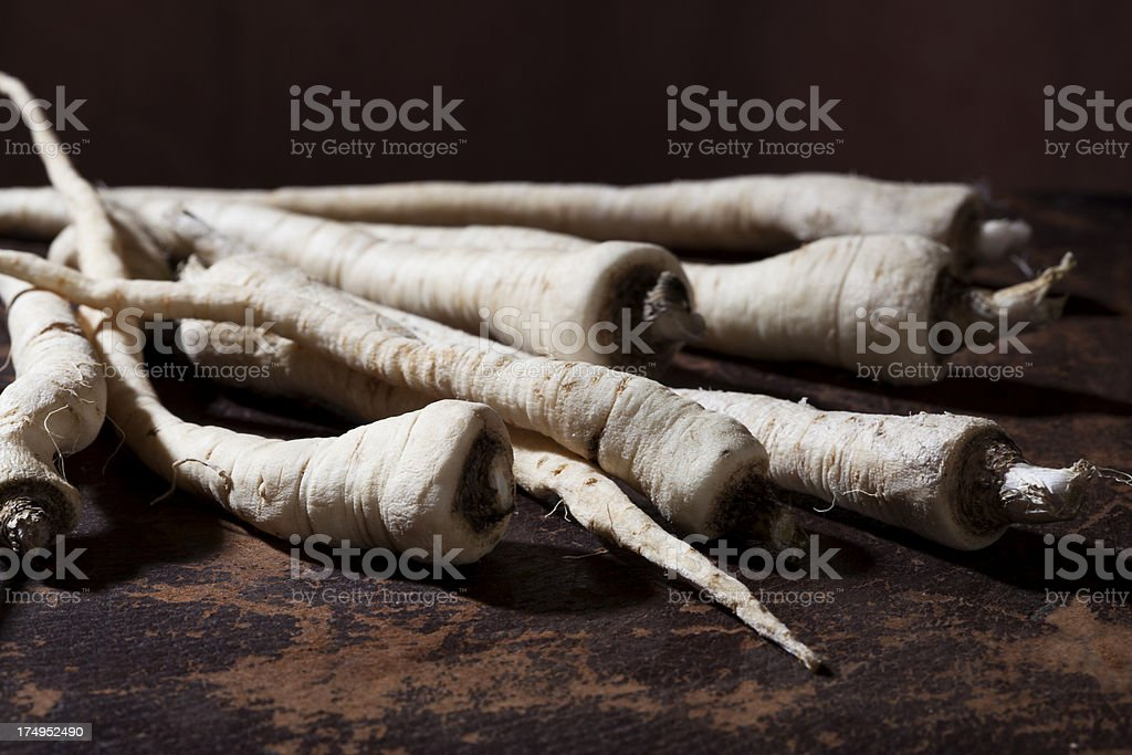 Parsnip royalty-free stock photo