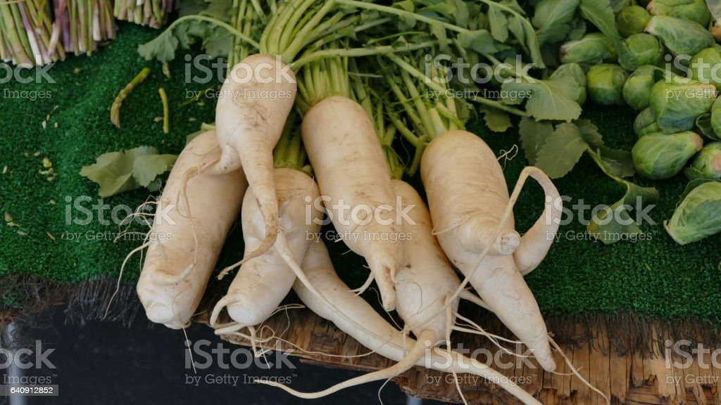 parsnips stock photo