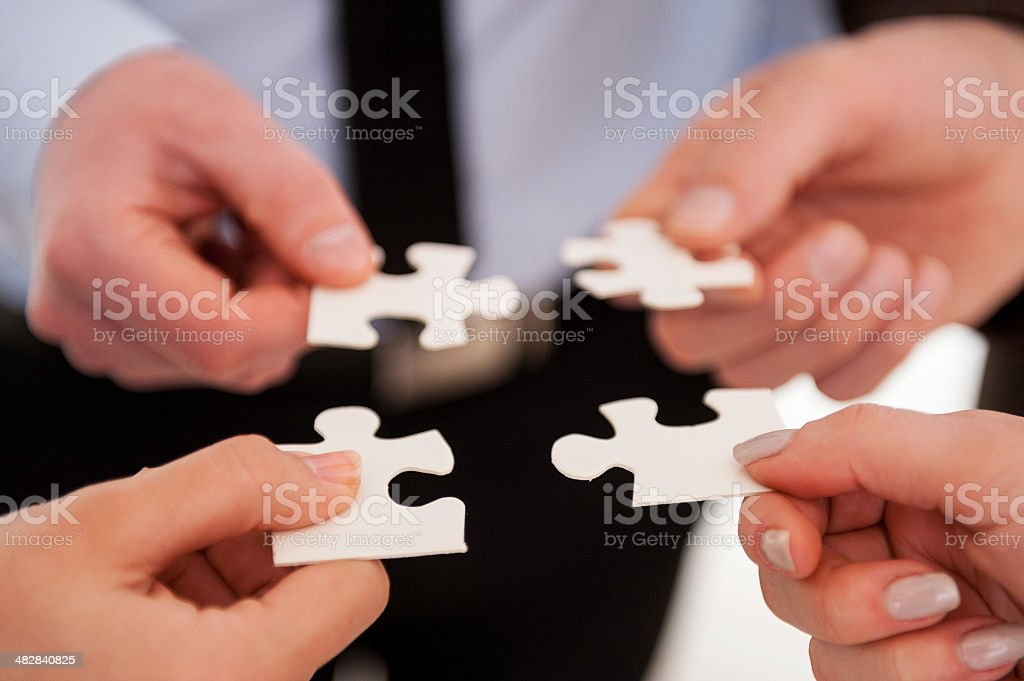 Part and parcel of business. stock photo