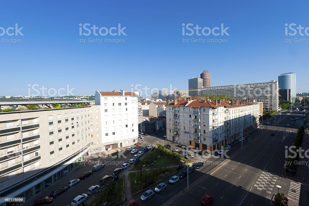 Part Dieu in Lyon, France royalty-free stock photo