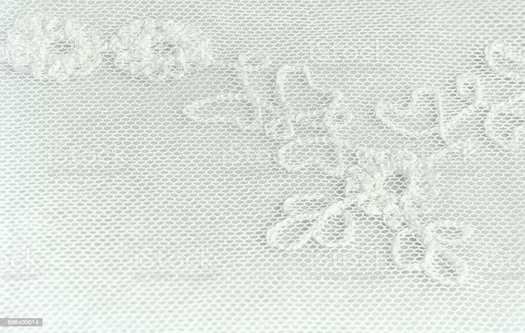 Part Of A Floral Lace Background stock photo