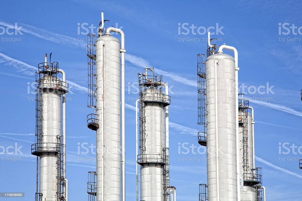 Part of a Refinery stock photo