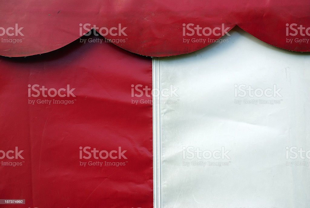 Part of a tent stock photo