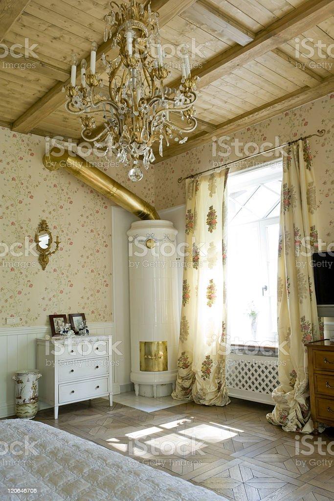 Parte De Un Dormitorio Con Cocina Rusa Cooper Stock Foto e Imagen de ...