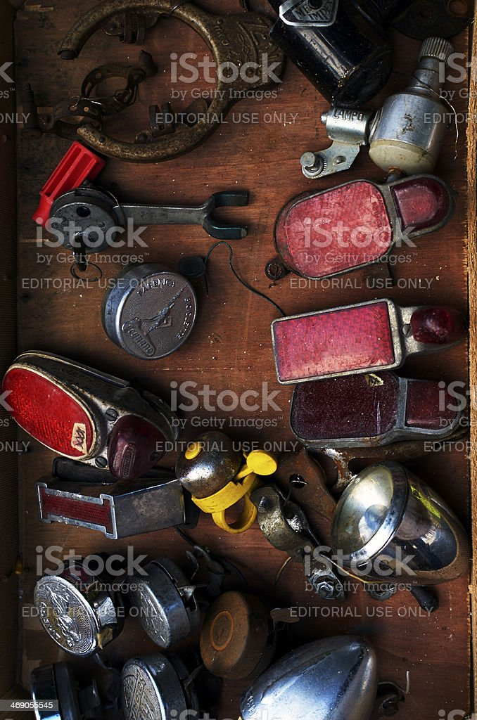 Part of Bicycle. Color Image stock photo