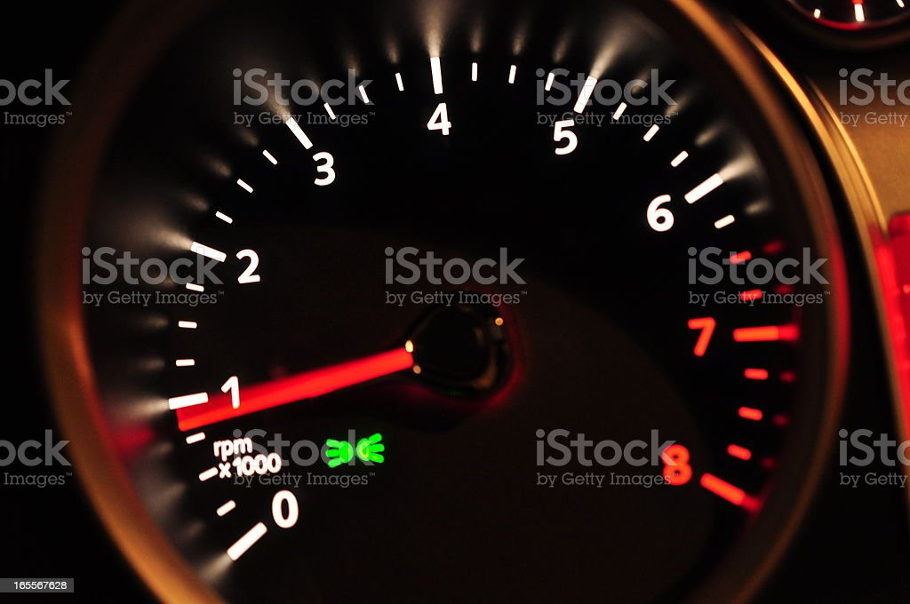 Part of cars dashboard royalty-free stock photo