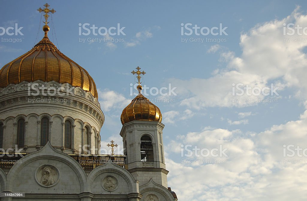 Part of cathedral royalty-free stock photo
