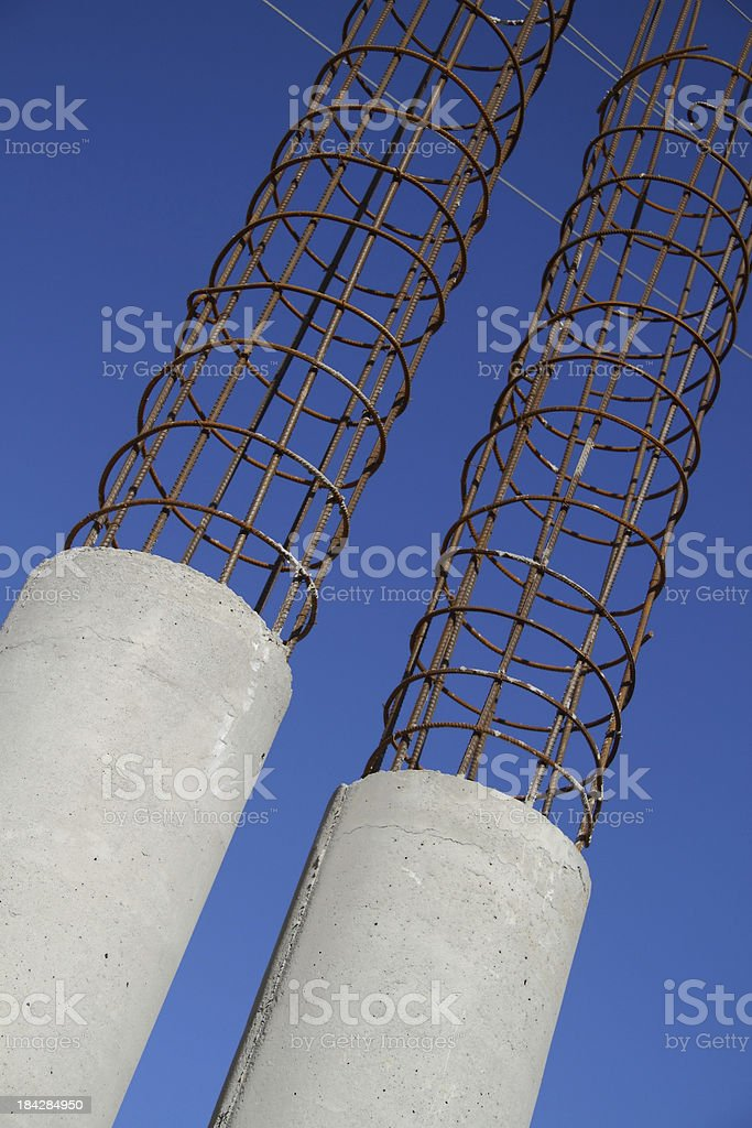 Part of constraction stock photo