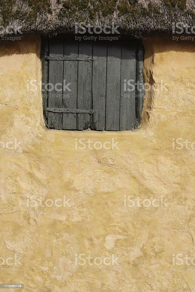Part of farm house stock photo