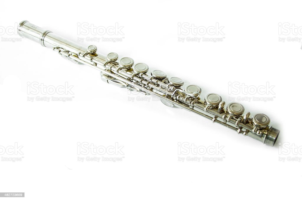 Part of flute stock photo