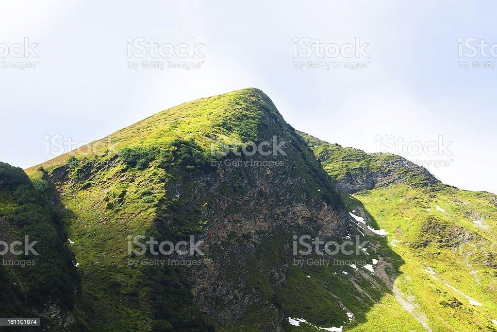 Part of mountain Fellhorn royalty-free stock photo