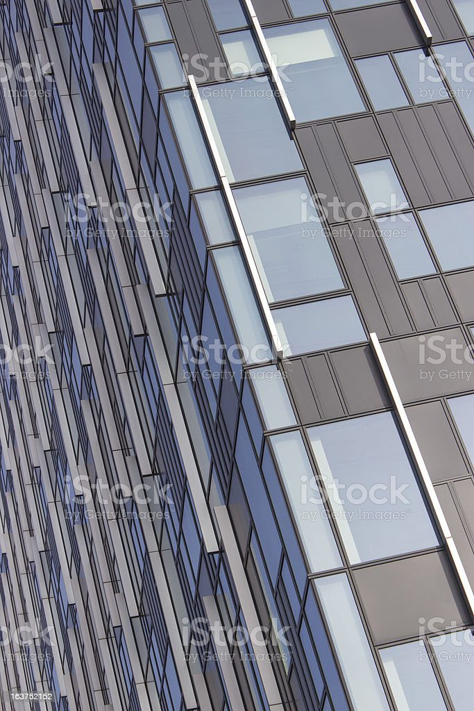 part of office builing royalty-free stock photo