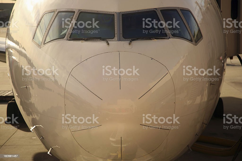 Part of plane 3 royalty-free stock photo