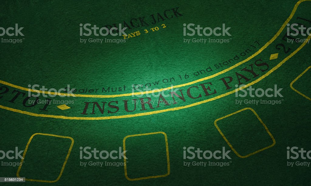 Part of poker table. High resolution image stock photo