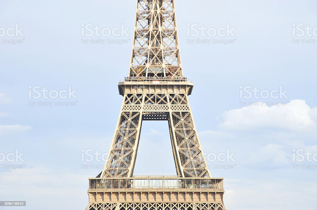 Part of Romantic Tower stock photo