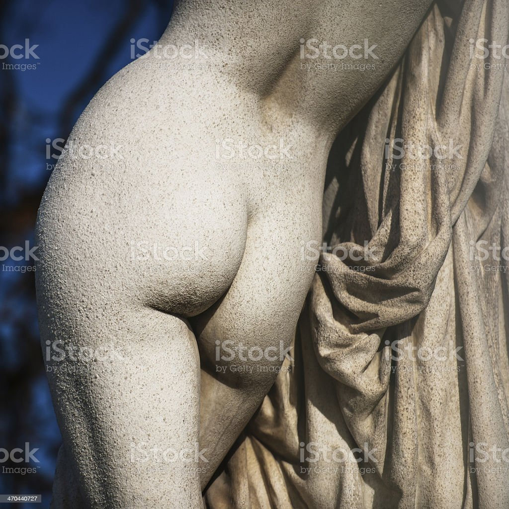Part of Statua royalty-free stock photo