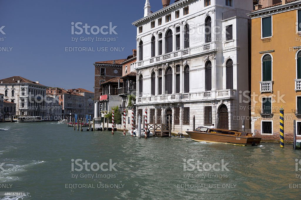 Part of the Grand Canal royalty-free stock photo