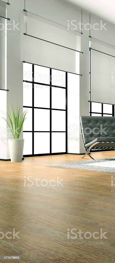 Part of the modern interior royalty-free stock photo