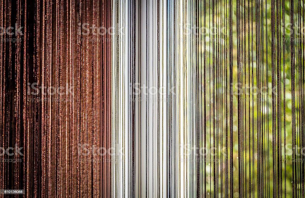 Part of window closeup stock photo