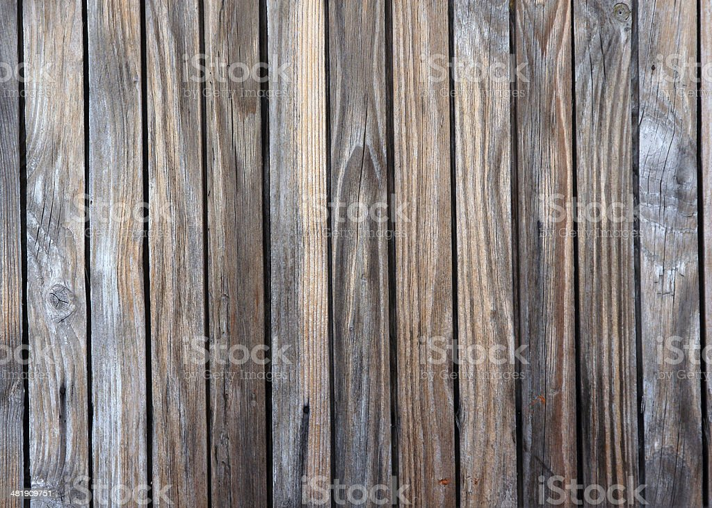 Part of wooden fences royalty-free stock photo