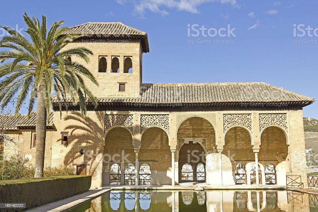Partal, Alhambra, Granada. stock photo