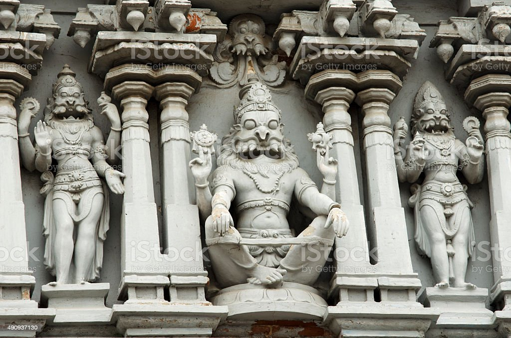 Parthasarathy Temple stock photo