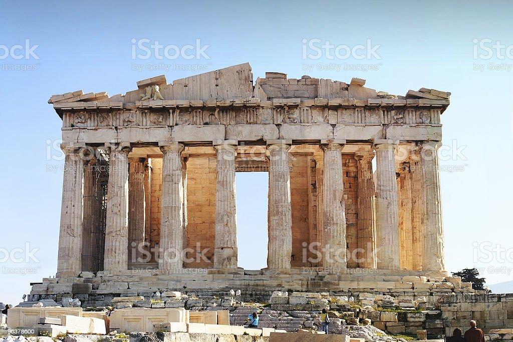Parthenon - Acropolis, Athens royalty-free stock photo