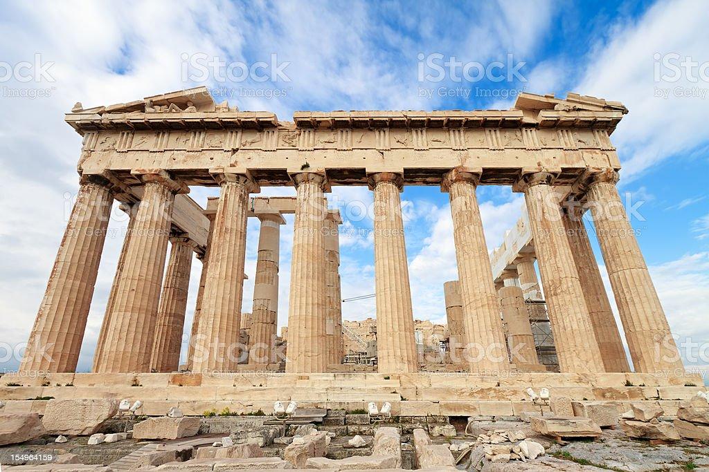Parthenon, Acropolis, Greece stock photo
