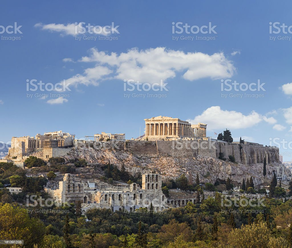 Parthenon, Akropolis - Athens, Greece stock photo