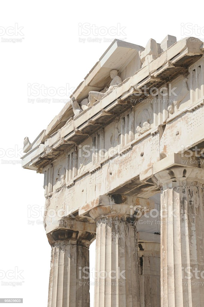 Parthenon at Acropolis, Athens, Greece royalty-free stock photo