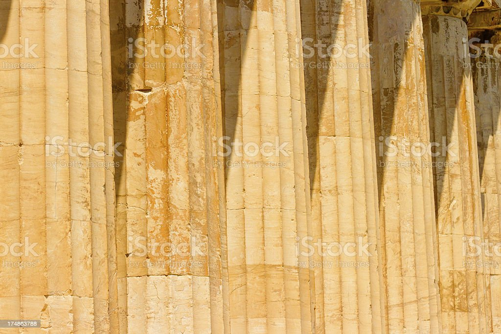 Parthenon at Acropolis, Athens royalty-free stock photo