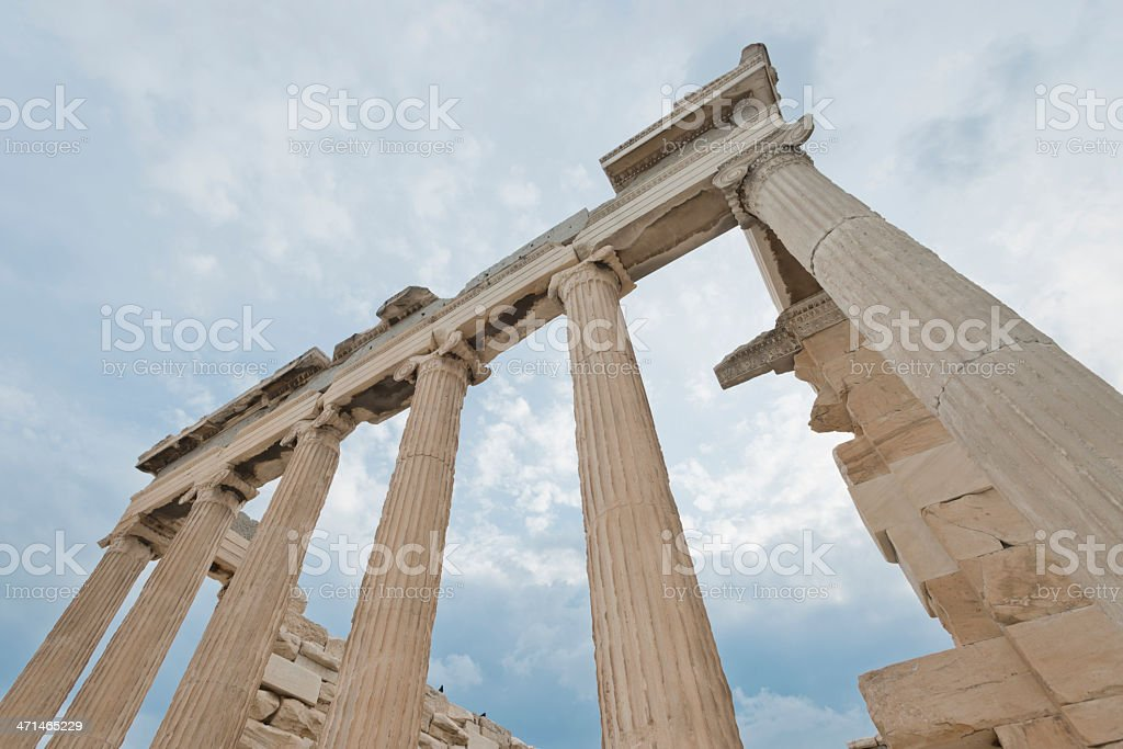 Parthenon at Acropolis, Athens stock photo