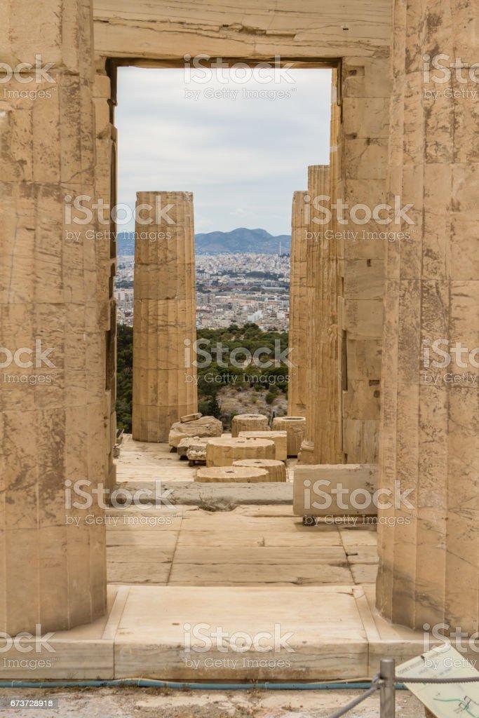 Parthenon, Athens, Greece stock photo
