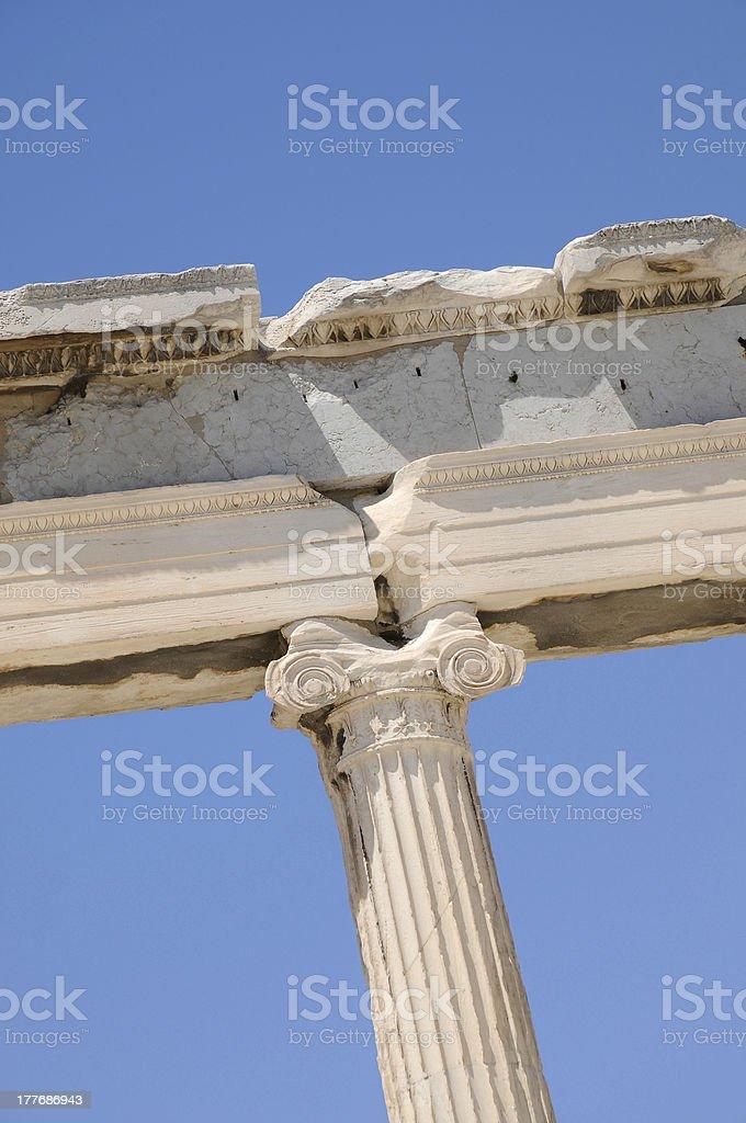 parthenon . Athens royalty-free stock photo
