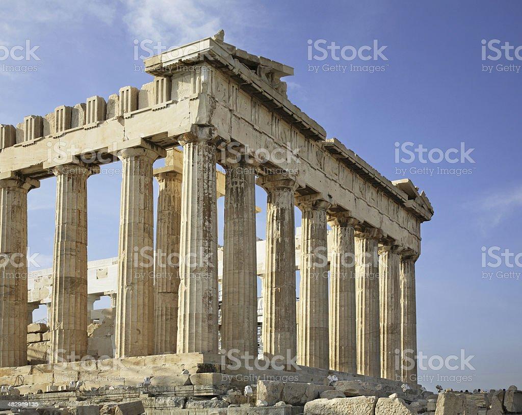 Parthenon  in Acropolis. Athens. Greece stock photo