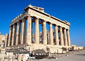 Parthenon on the Acropolis, Athens, Greece