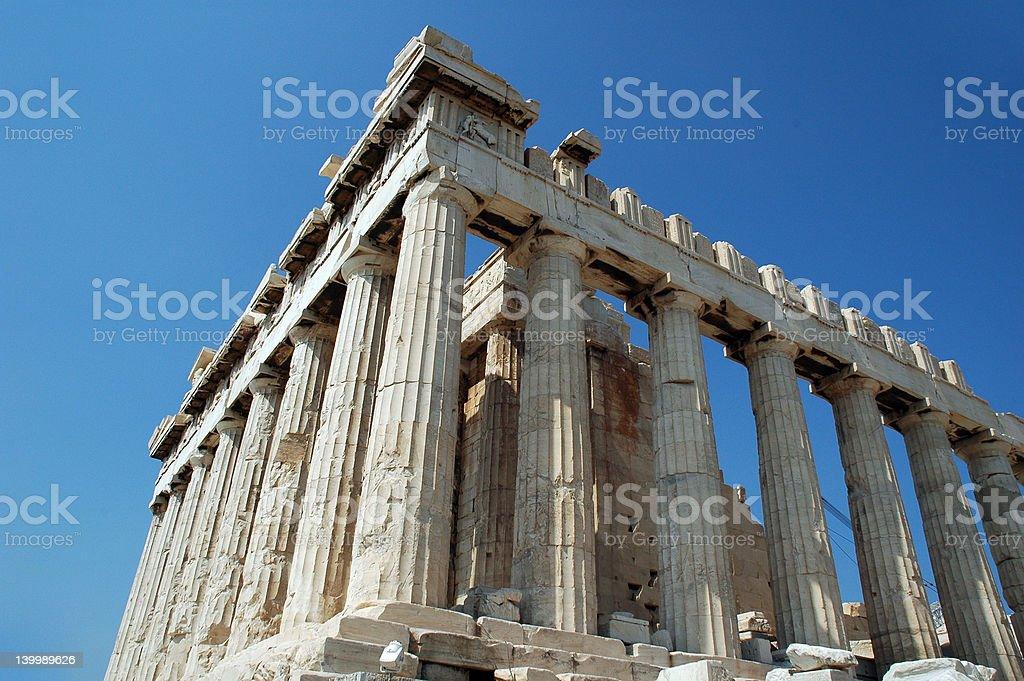 Parthenon royalty-free stock photo