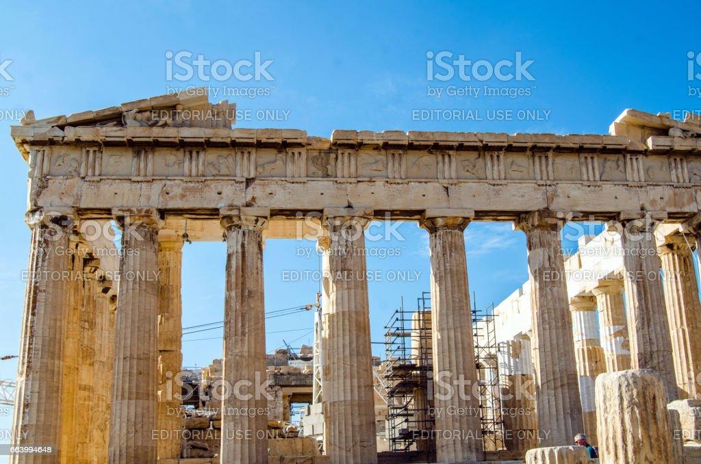 Parthenon stock photo