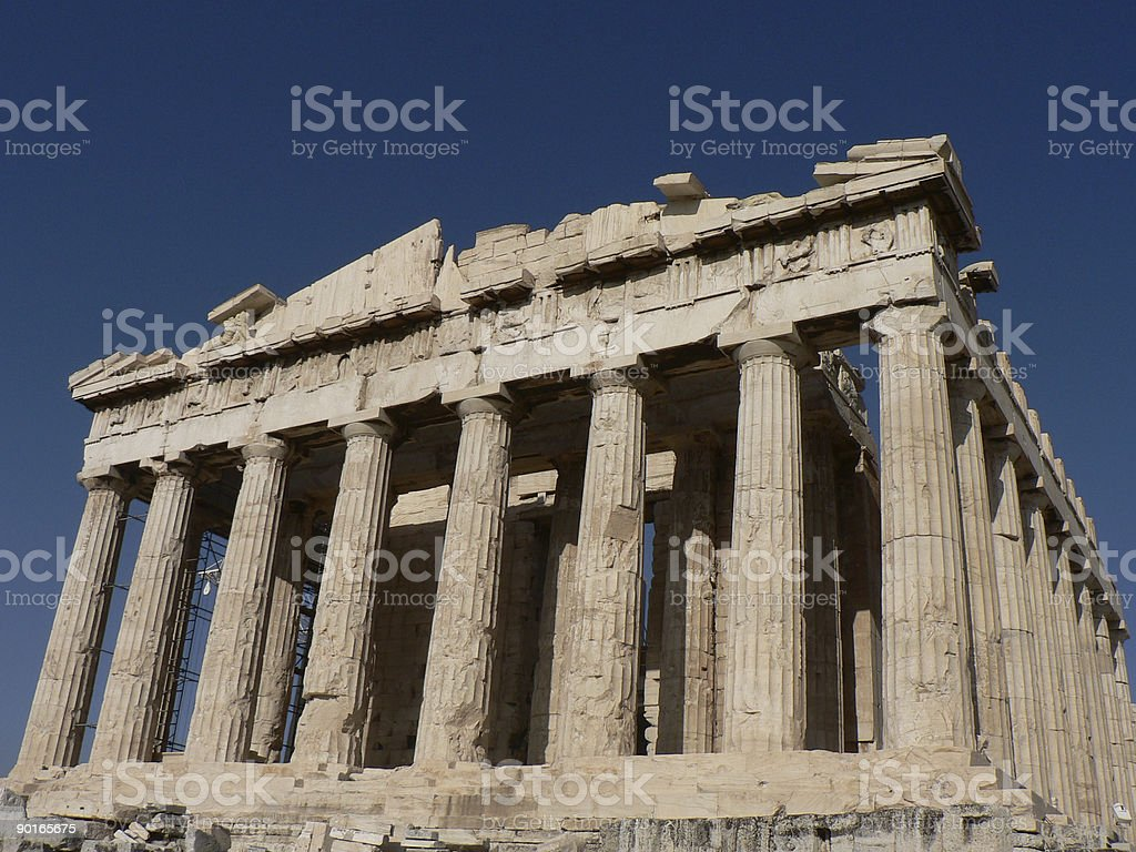 Parthenon royalty-free stock photo