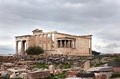 Parthenon temple on the Acropolis.